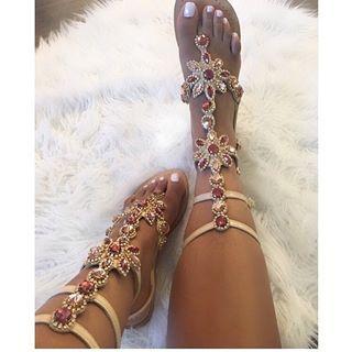1e8bfb81e72 From cool and stylish Jania  msjanialove ! Enjoy Gorgeous Gladiator Sandals  Pasha Hisingen ✨✨