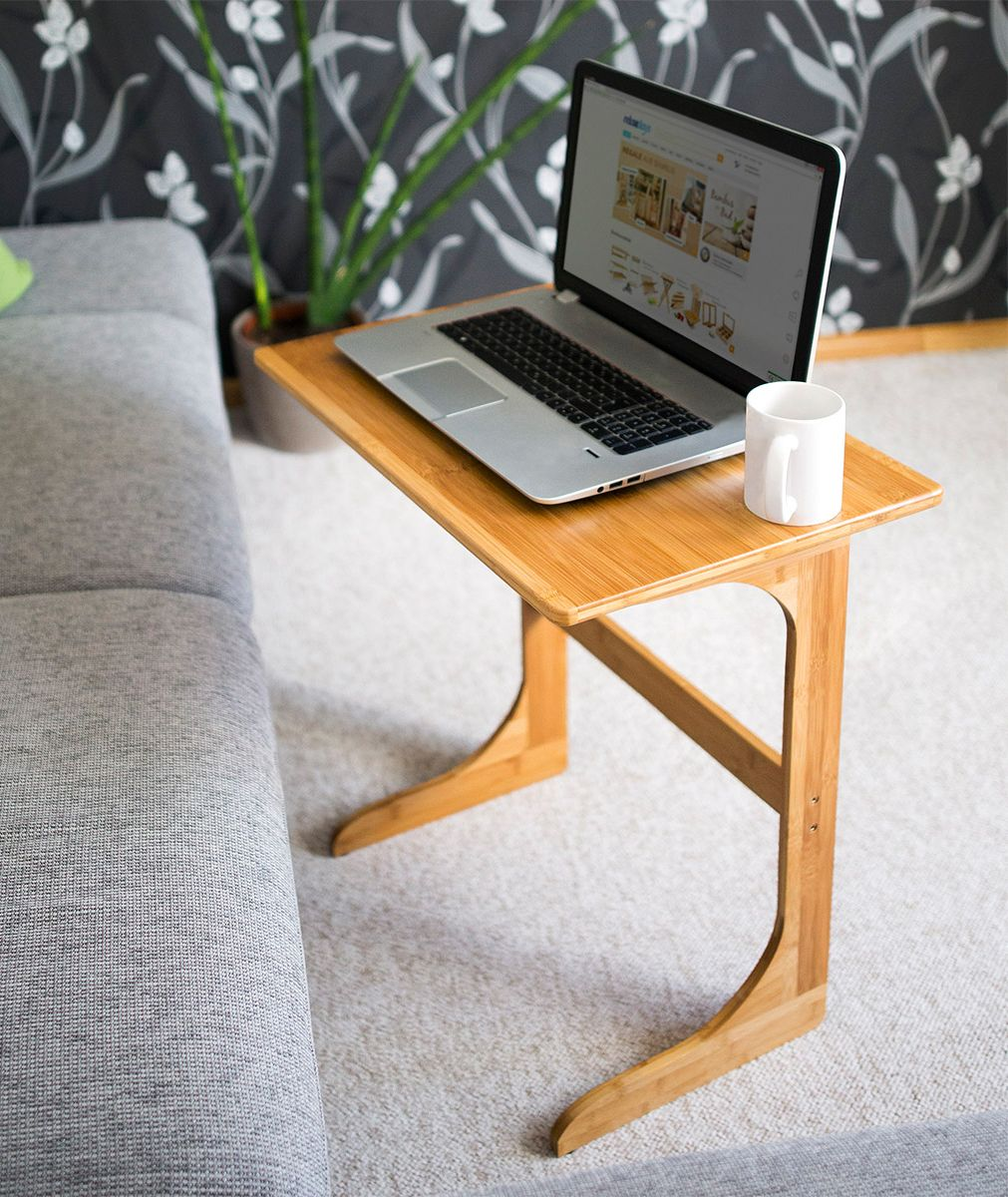 laptop beistelltisch bambus m bel aus bambus pinterest bambus beistelltische und praktisch. Black Bedroom Furniture Sets. Home Design Ideas