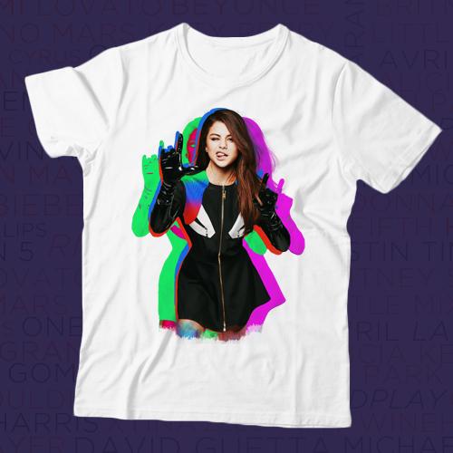 Camiseta Selena Gomez - Color