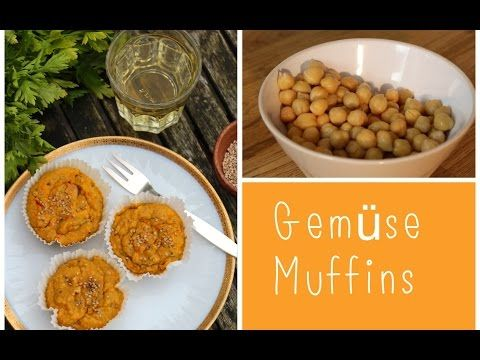 Gemüse-Kichererbsen-Muffins / LadyLandrand - YouTube