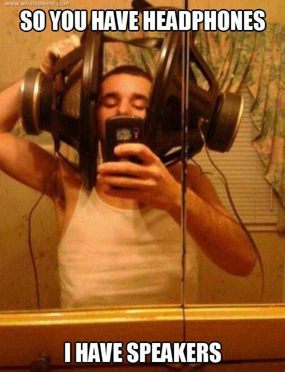 ddecd131cf5c789c071602ecb6cd5065 headphones what's meme ? funny pinterest headphones and meme
