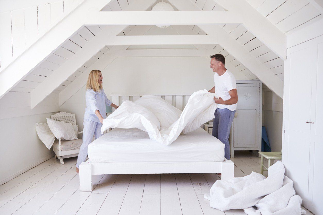 Knowing How To Make Your Bed Is The First Step To Improving Your