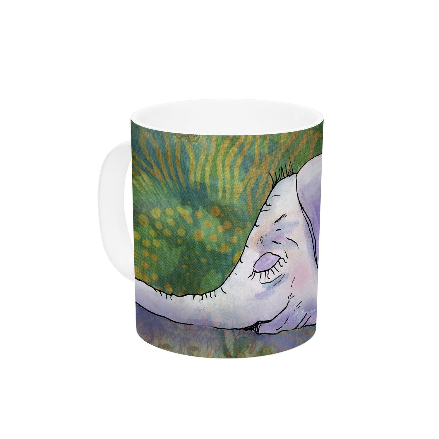 "Catherine Holcombe ""Ernie's Dream"" Ceramic Coffee Mug"