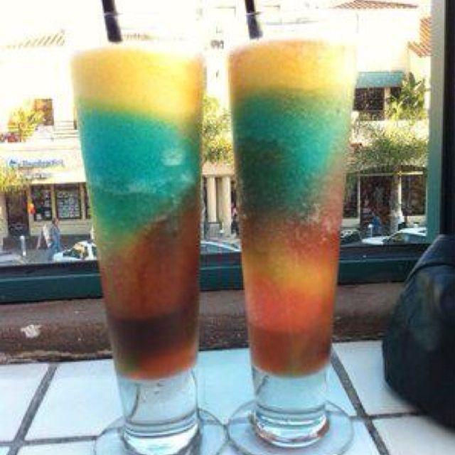 A World Famous Rainbow From Aloha Grill In Huntington Beach