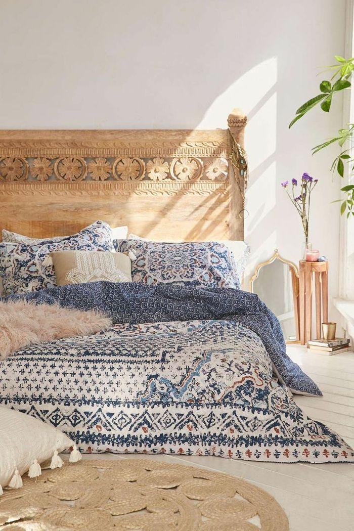 49 Einrichtungsbeispiele für mehr Glamour beim Schlafzimmer einrichten #bohemianbedrooms
