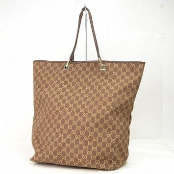 f2f2e3be5124f Gucci Monogram Brown Tote Bag. Get one of the hottest styles of the season!