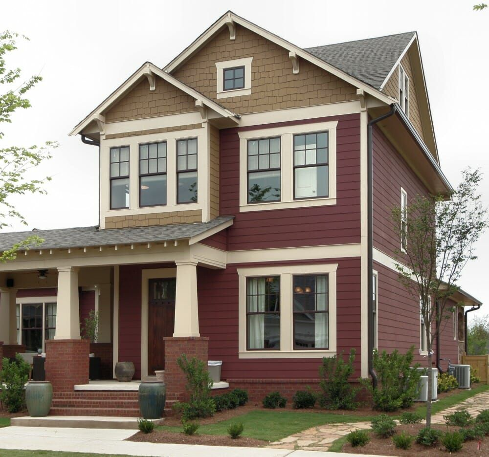 20+ Cool Collection Hardie Wood Siding Craftsman style