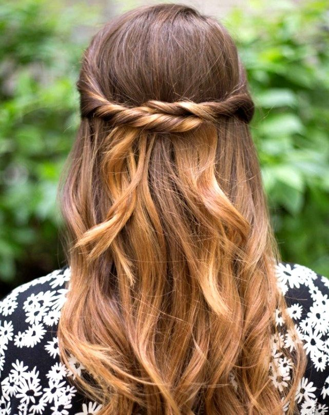27 cute and easy long hairstyles for school  pinmagz in