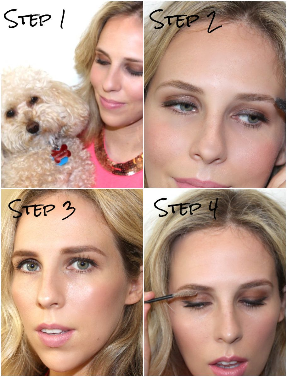 How To Tame Eyebrows