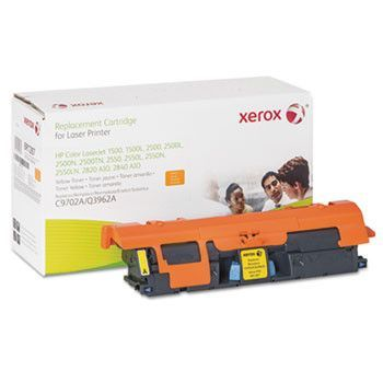 6r1287 Compatible Remanufactured Toner, 4200 Page-Yield, Yellow