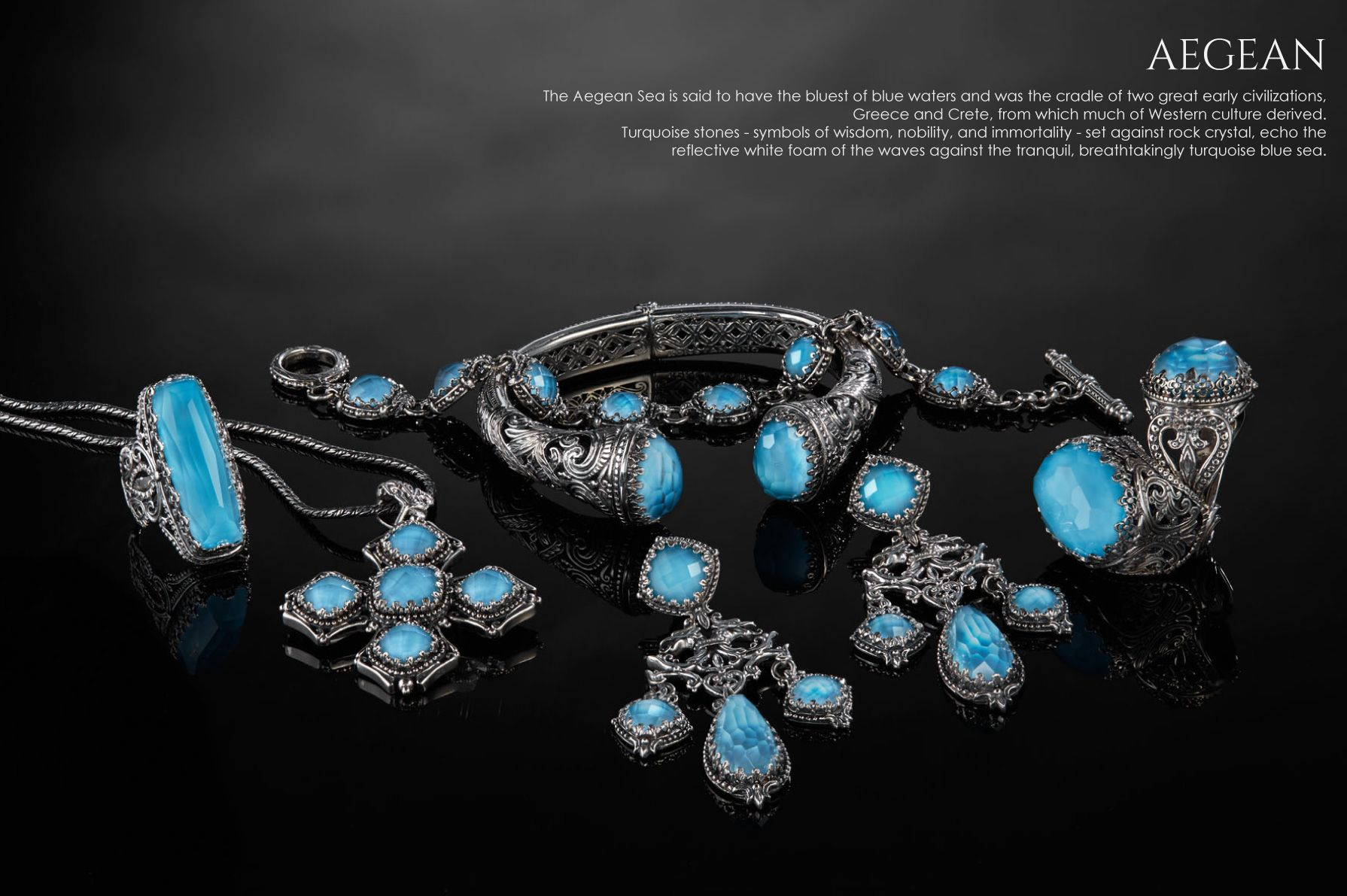 Konstantino- my favorite jeweler designer. AEGEAN - FASHION COLLECTIONS - WOMEN'S