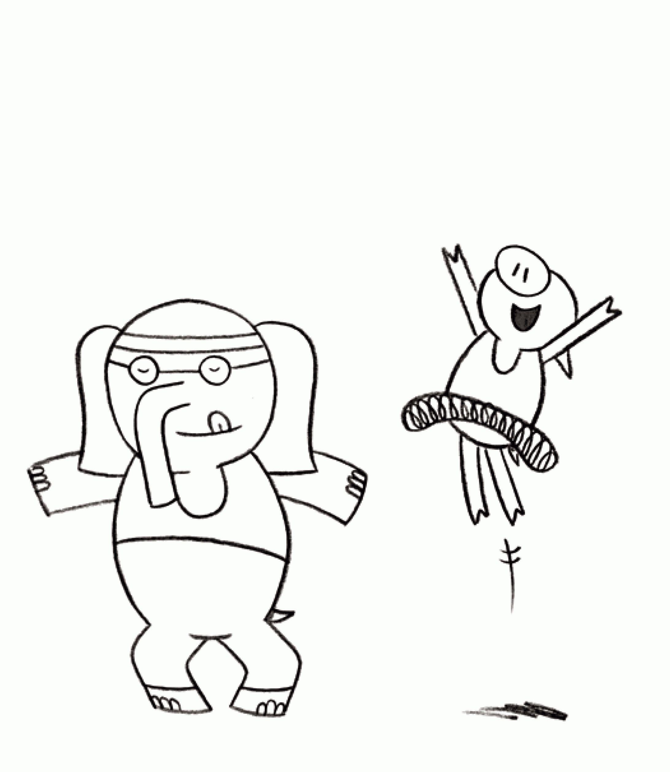 worksheet Elephant And Piggie Worksheets elephant and piggie coloring pages coloring