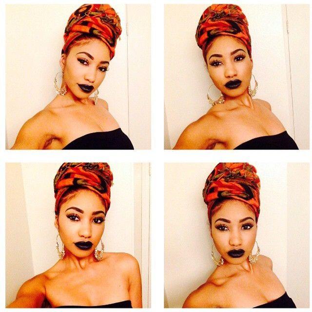 Fashion Turbans | Head Scarf | Headwraps | Pinterest ...