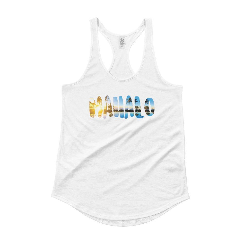 Mahalo Ladies' Shirttail Tank