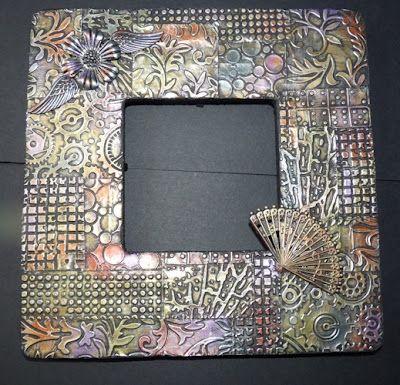 Beyond The Fringe Crafts More Metal Foil Art Foil Art Tin Foil Crafts Aluminum Foil Crafts