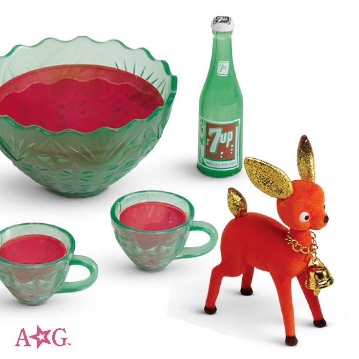 """18/"""" American Girl 7up bottle Drink from Maryellen/'s PARTY PUNCH SET"""