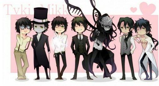 Tyki is my favorite character in the world of d.gray-man