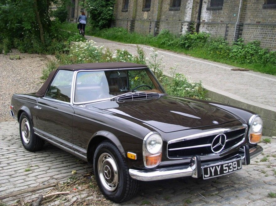 Mercedes Pagoda For Sale | Mercedes-benz 280 SL Pagoda Sports LHD ...