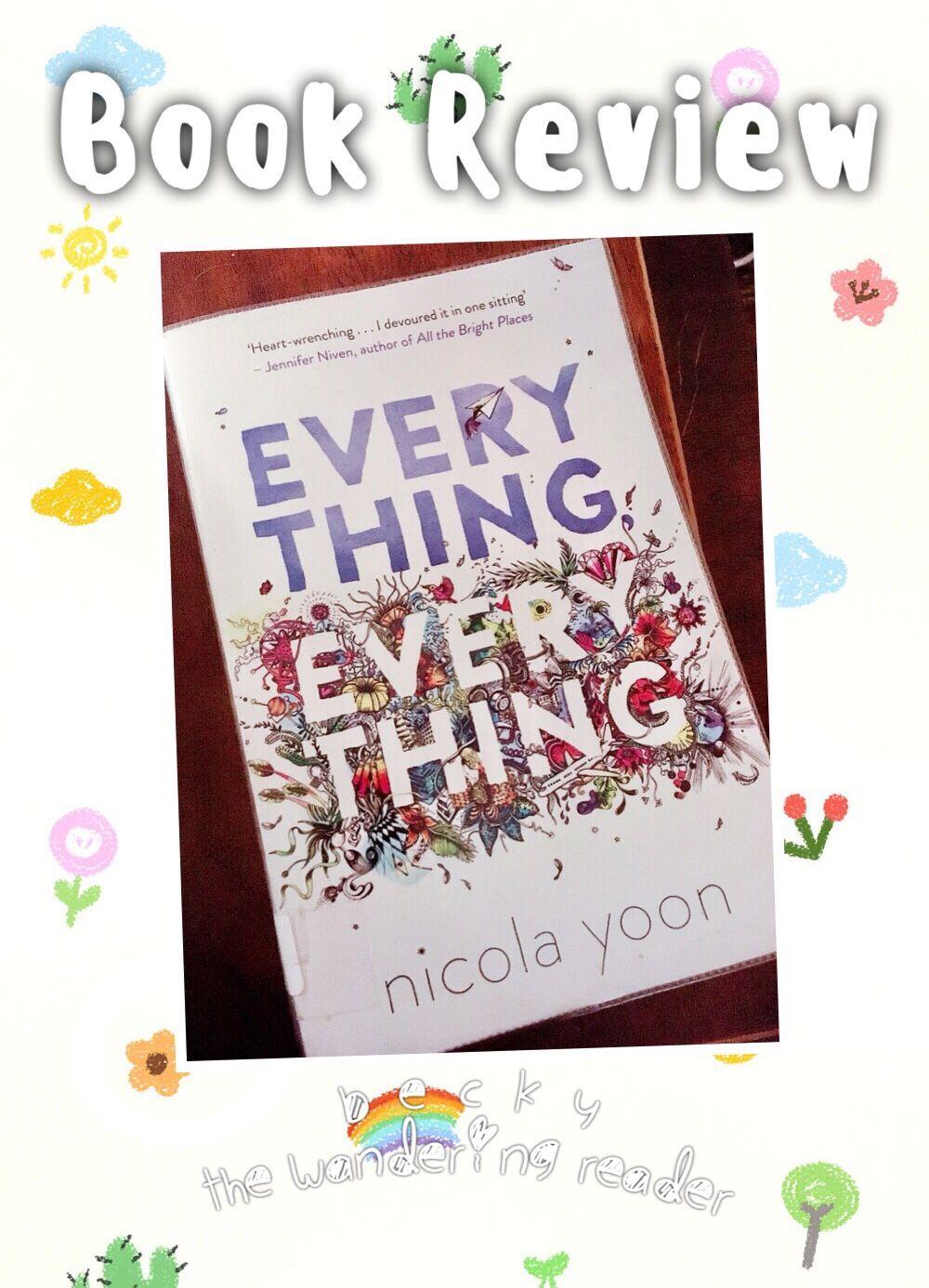 Book review everything everything book review readers