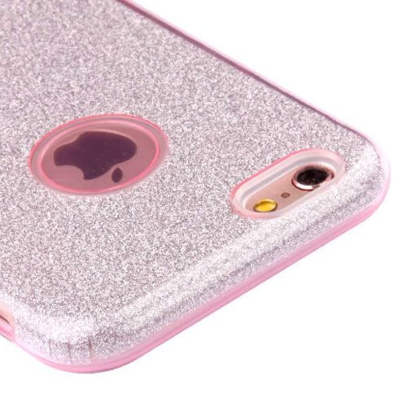 Insten Hard Snap-on Dual Layer Hybrid Glitter Case Cover For Apple iPhone 6/ 6s #2351659