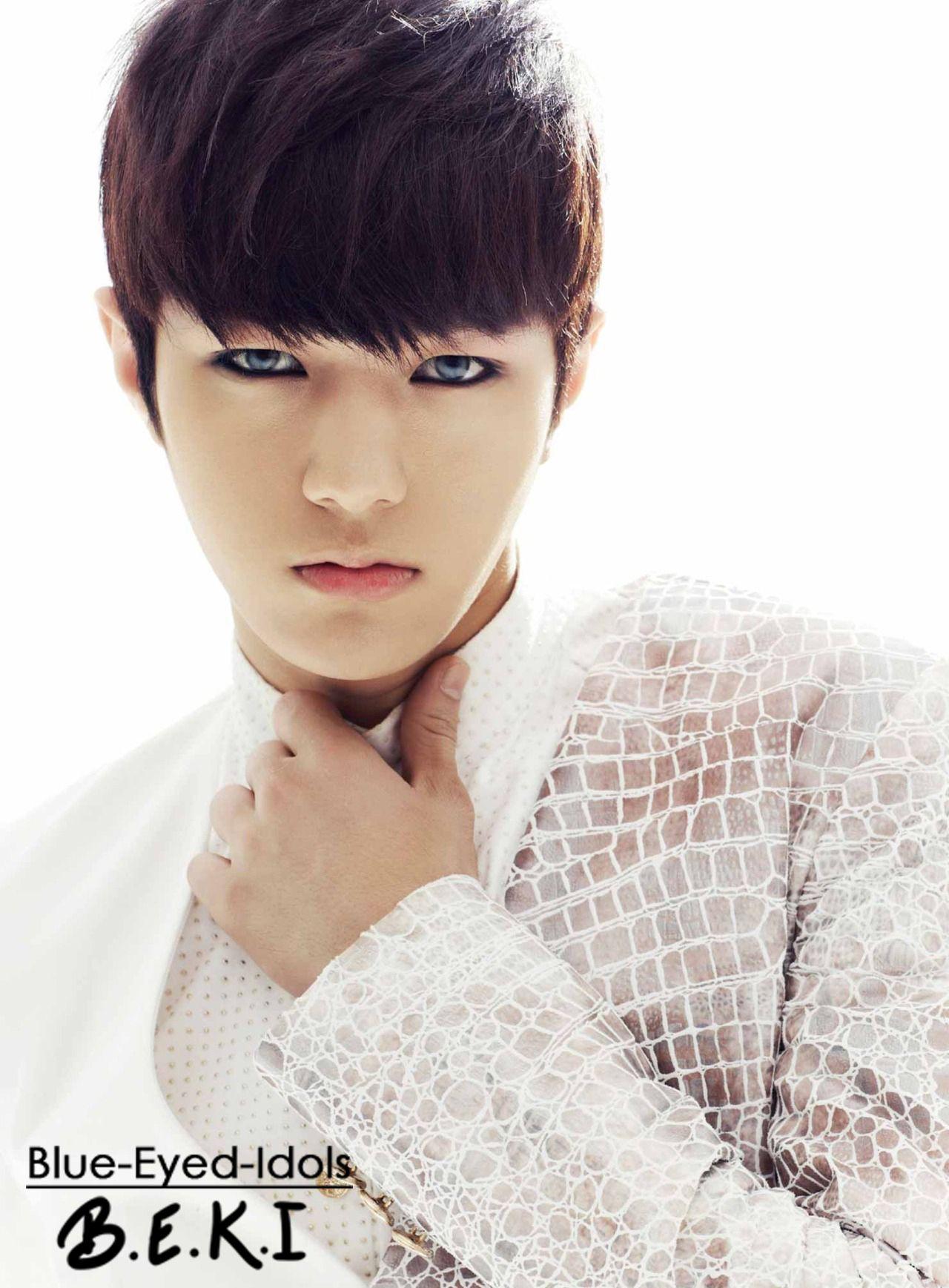 Blue Eyed Idols Myungsoo Kim Myung Soo Korean Idol
