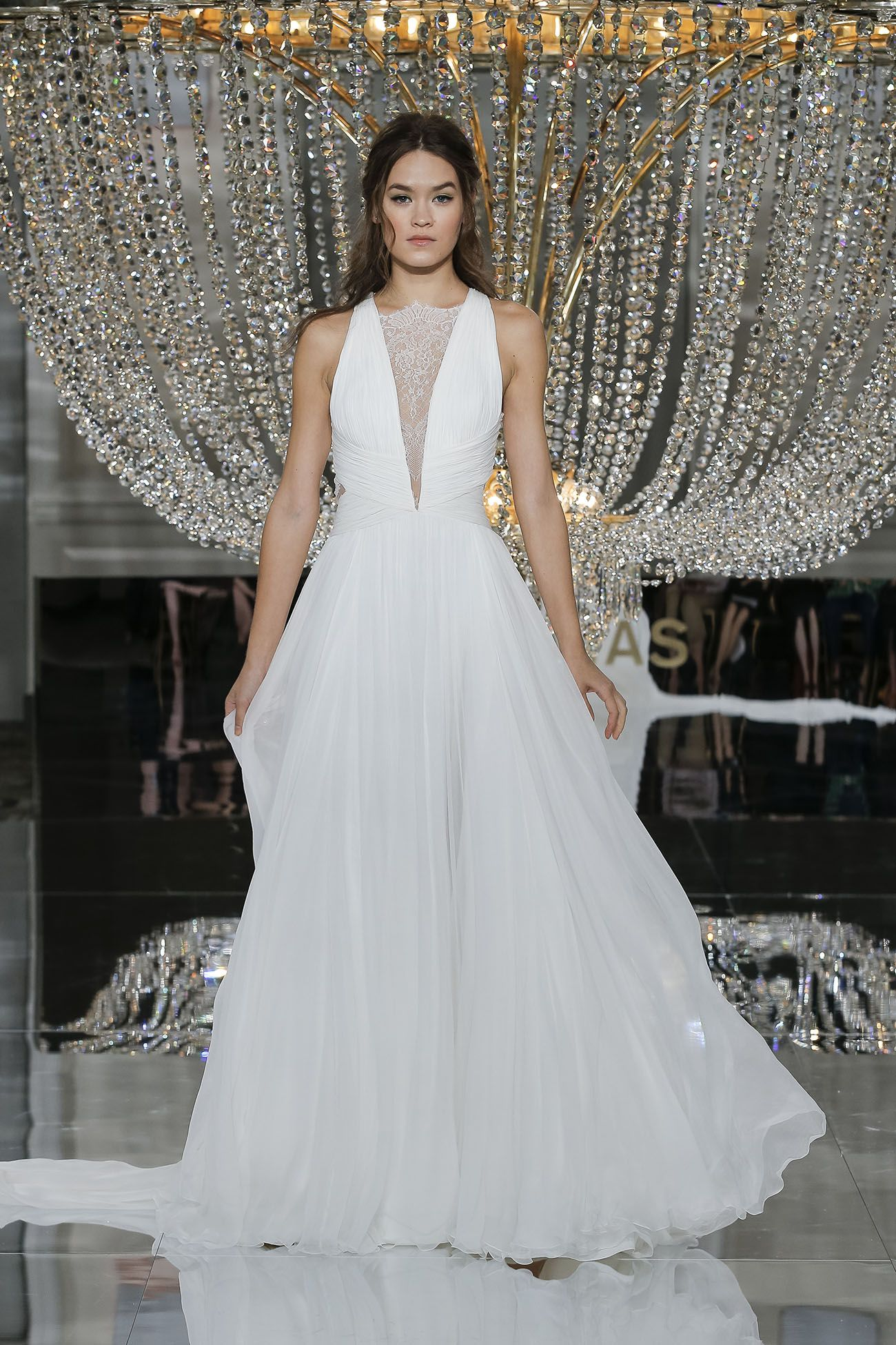 Pronovias 2018 Collection Nyc Fashion Show Wedding Dresses