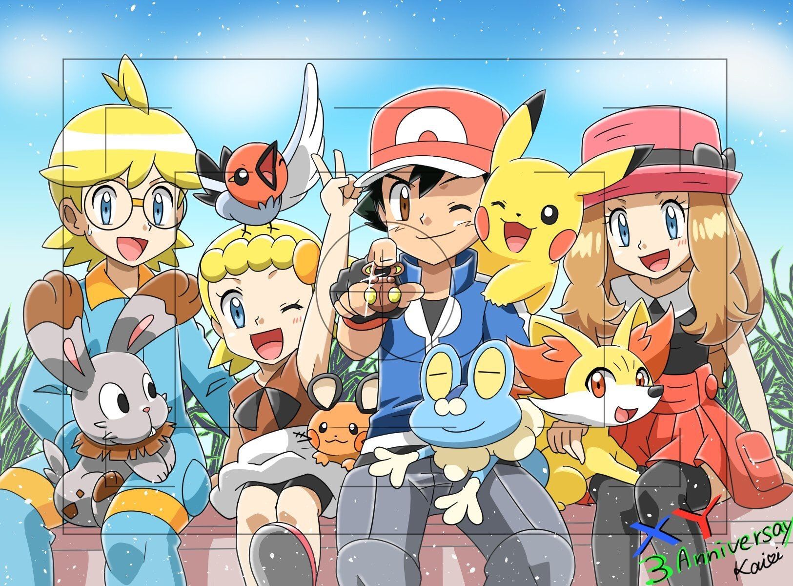 pokemon ash and serena first date full episode