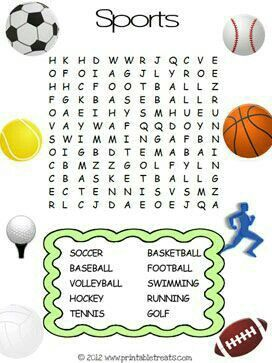 pin by mathilda moganedi on tilly kids word search sports activities for kids kids olympics. Black Bedroom Furniture Sets. Home Design Ideas