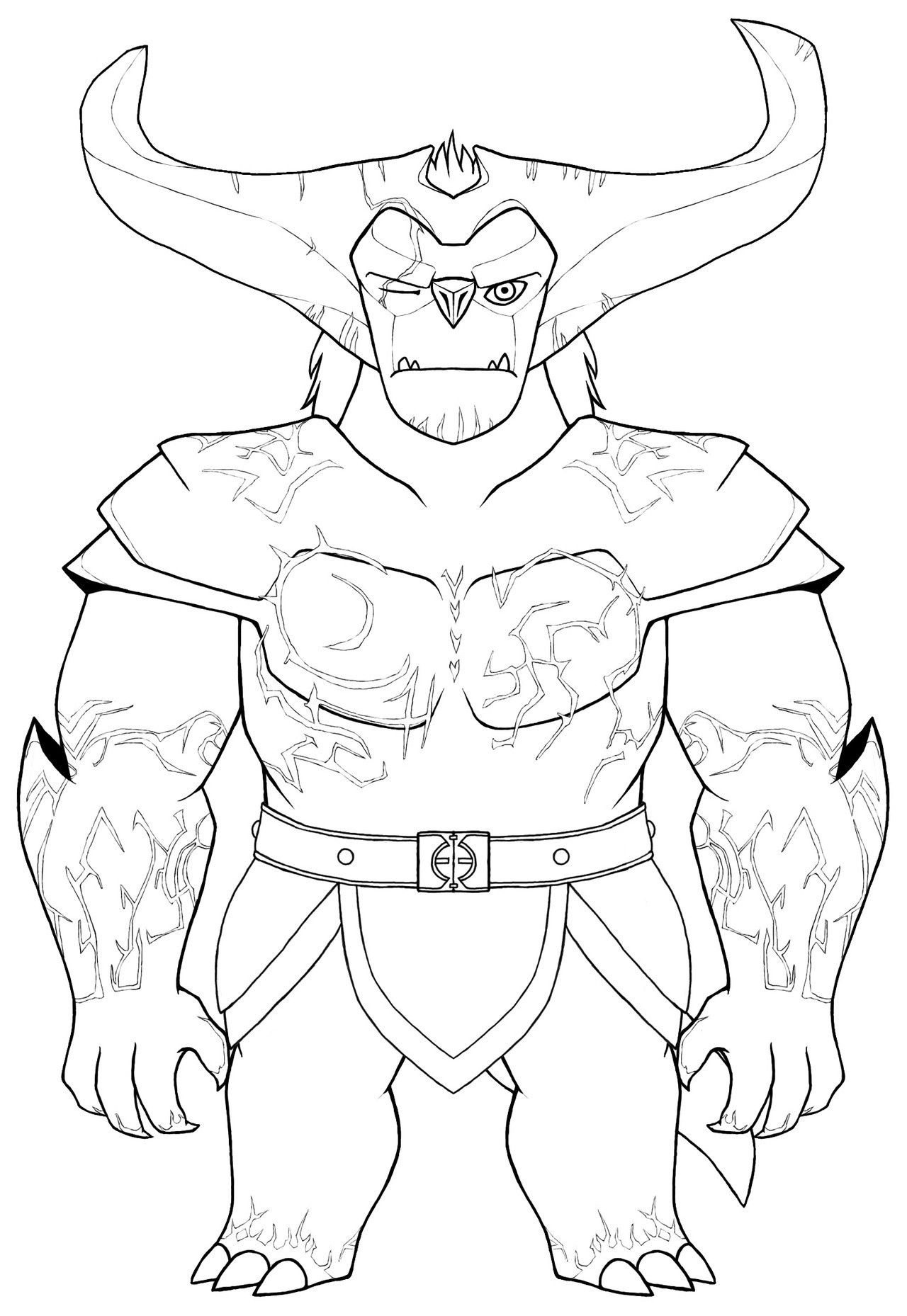 Gunmar Coloring Page Color Crafts Coloring Pages Crafts [ 1858 x 1280 Pixel ]