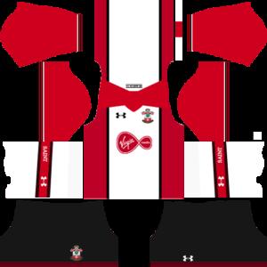 sports shoes 9275a d3b3b Dream League Soccer Kits Southampton 2017-2018 Kit and Logo ...