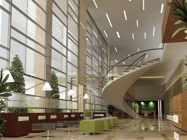 Contemporary & Chic Lobby Interior Design