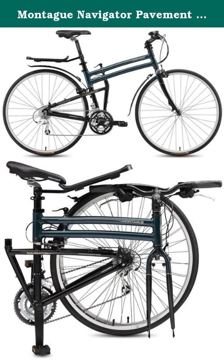 Montague Navigator Pavement Bike 17-Inch, Midnight Blue/Black. The ...