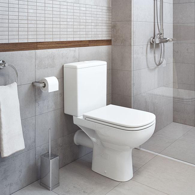 Mozaika Minimal Arte Prostokaty 29 8 X 29 8 Cm Szara Plytki Scienne Minimalism Interior Toilet