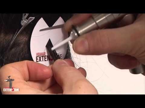FLATICE - Tecnica Extension a freddo con ultrasuoni - SheHairExtension.com - YouTube