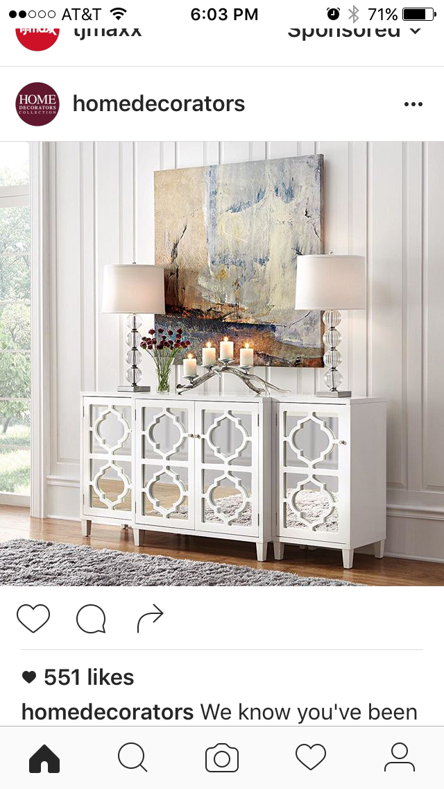 Pin By Dominique Lambert On Ambiance White Console Table Home Decor Bedroom Home Decor Inspiration