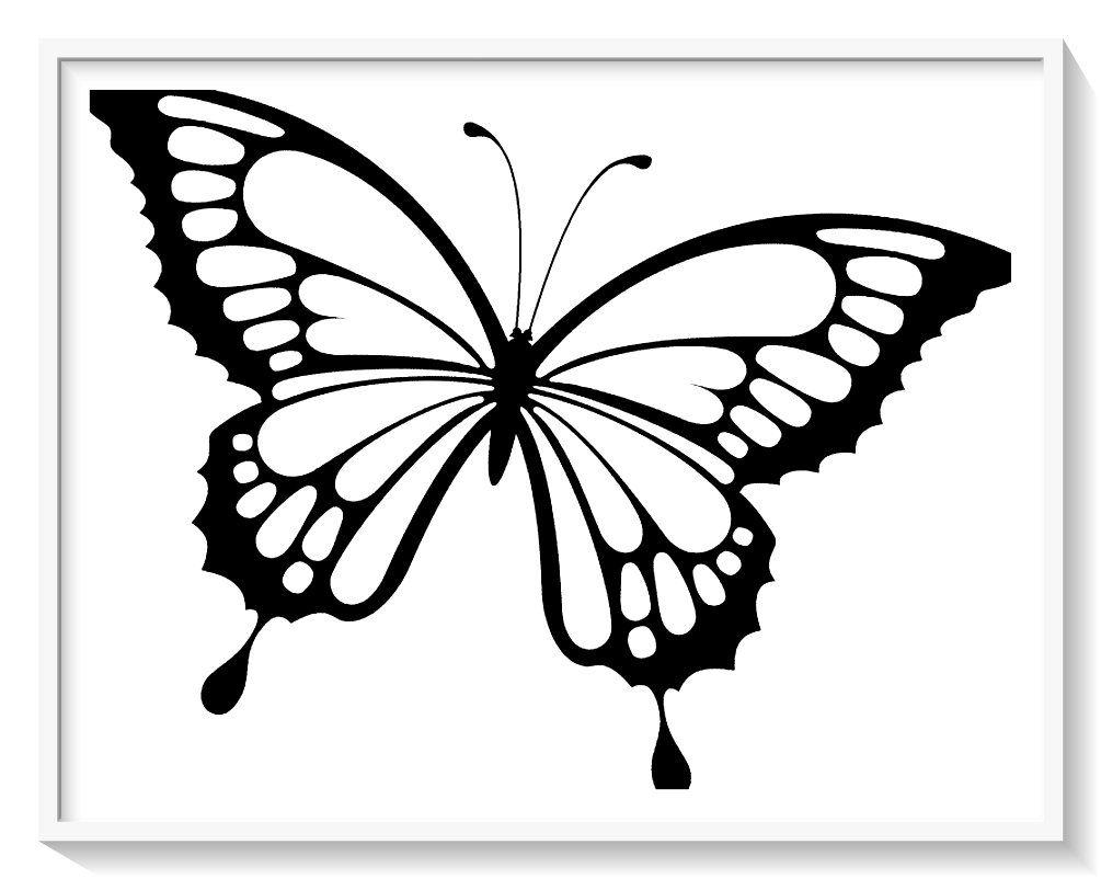 Los Mas Lindos Dibujos De Mariposas Para Colorear Y Pintar A Todo Color Imagenes Prontas Mariposas Para Colorear Dibujo Simple De Mariposa Mariposa Imprimible