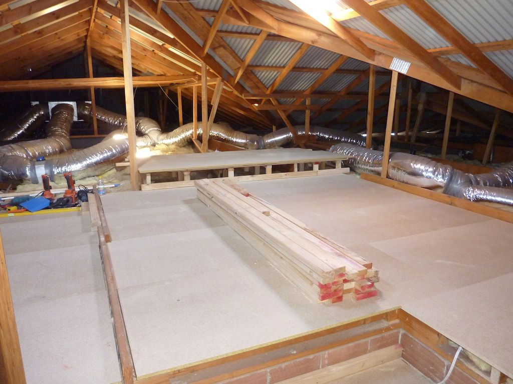 Pin By Kris Van Wellen On Loft Flooring Attic System