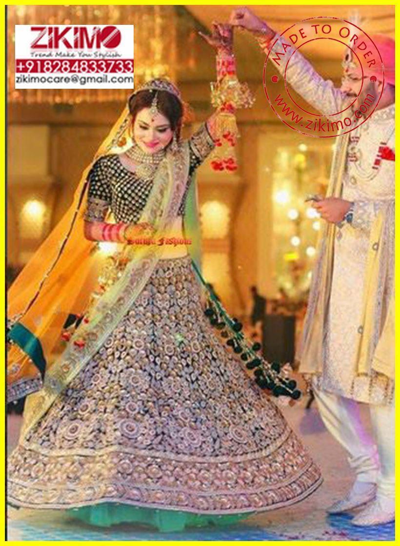 Shop Indian Bridal Lehengas at Zikimo Fashion. Fashion