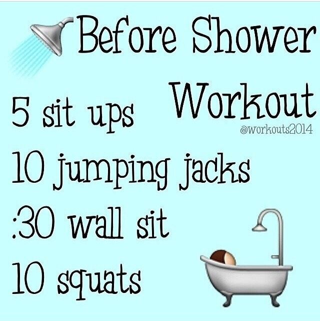 Before the shower training #Health #Fitness #Trusper #Tipp #before #fitness #health #shower #trainin...