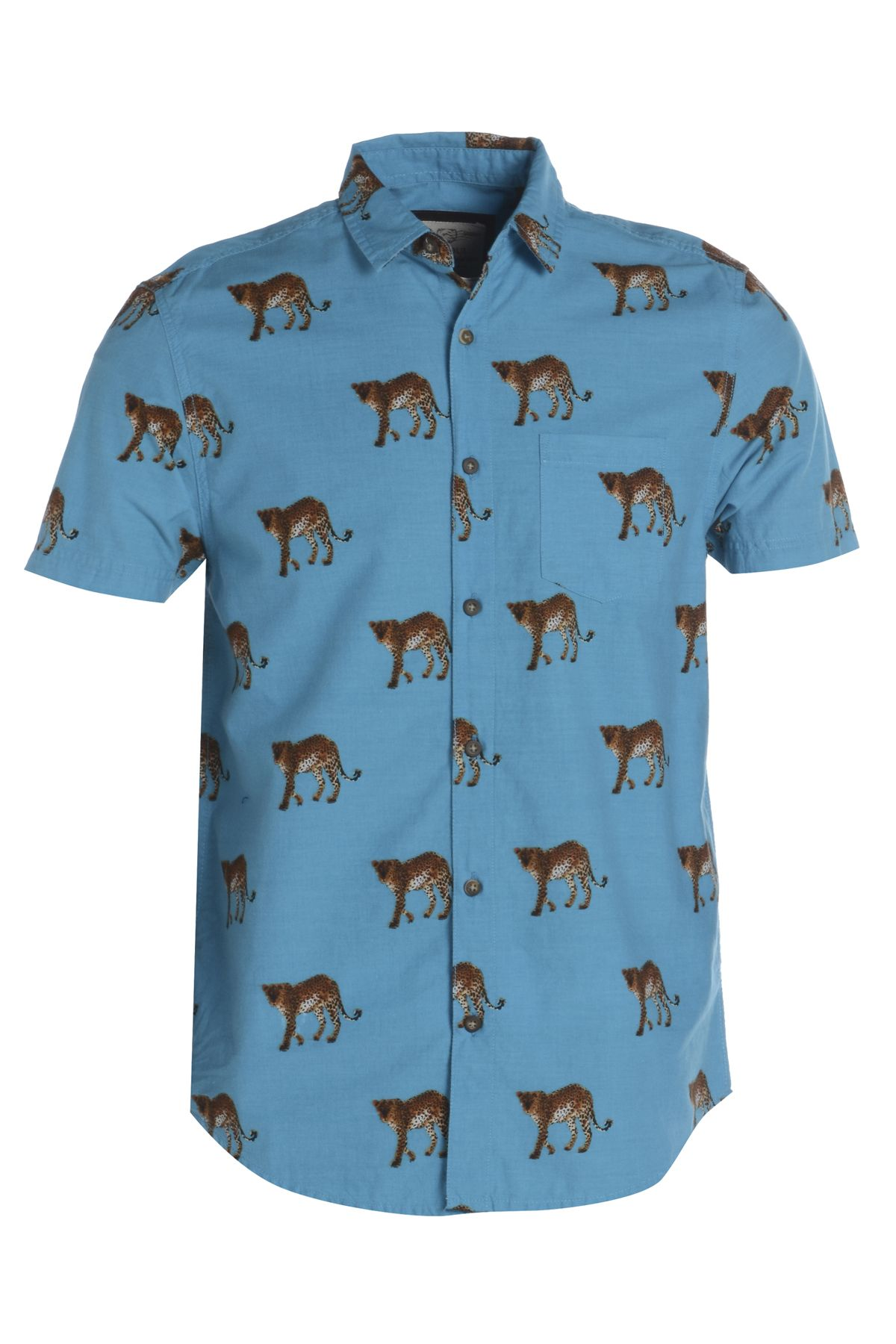 Brave Soul | Mens Animal Print Shirt | Printed and Patterned ...