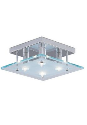 Searchlight Dallas Chrome Ceiling Fitting 4434CC at LightingLighting