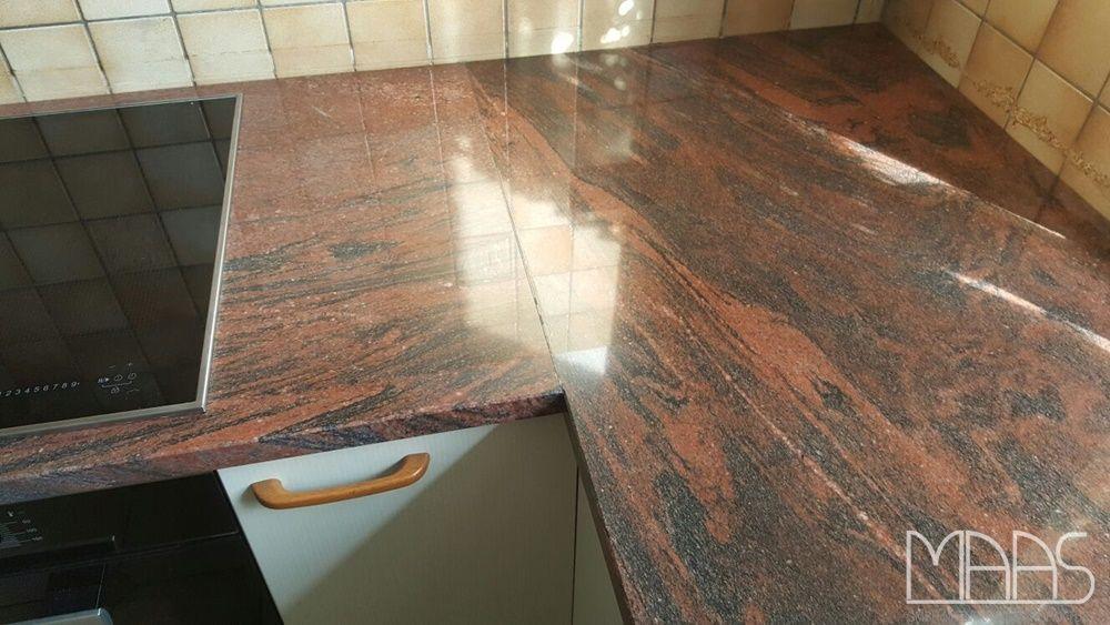 Multicolor Guayana Granit Arbeitsplatten    wwwgranit - küchenarbeitsplatte aus granit