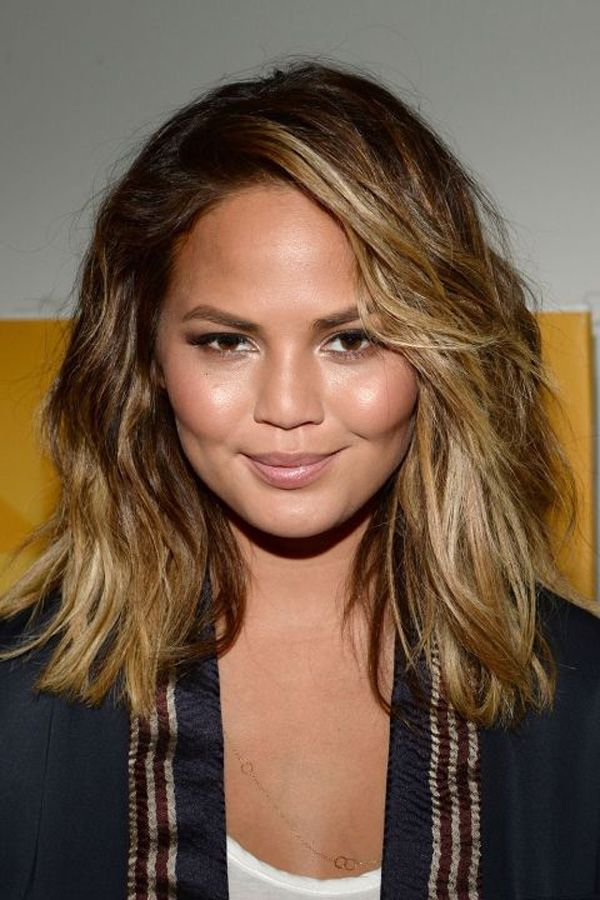 Hairstyles For Girls With Medium Hair Mesmerizing Haircuts For Girls With Chubby Cheeks  Ombre And Balayage