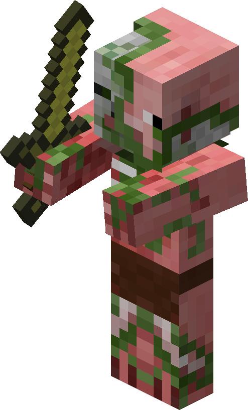 Zombie Pigmen Ideias De Minecraft Coisas Do Minecraft Minecraft Personagens