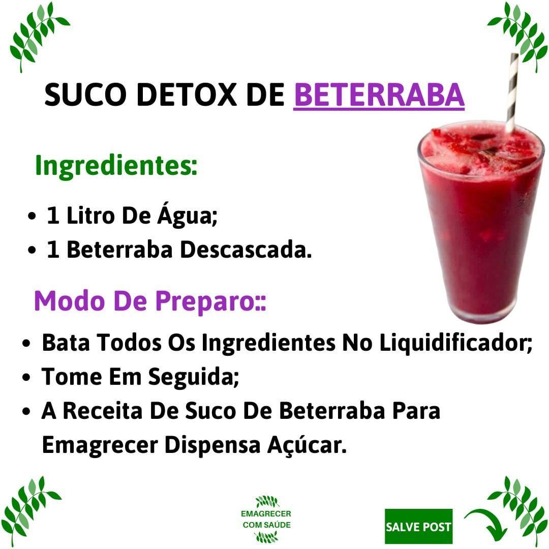 Suco Detox De Beterraba Em 2020 Suco Detox De Beterraba