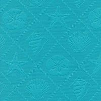 Seashell Caribbean Blue from the Cushion/Furniture/Drapery Fabrics Outdoor Matelasse collection.