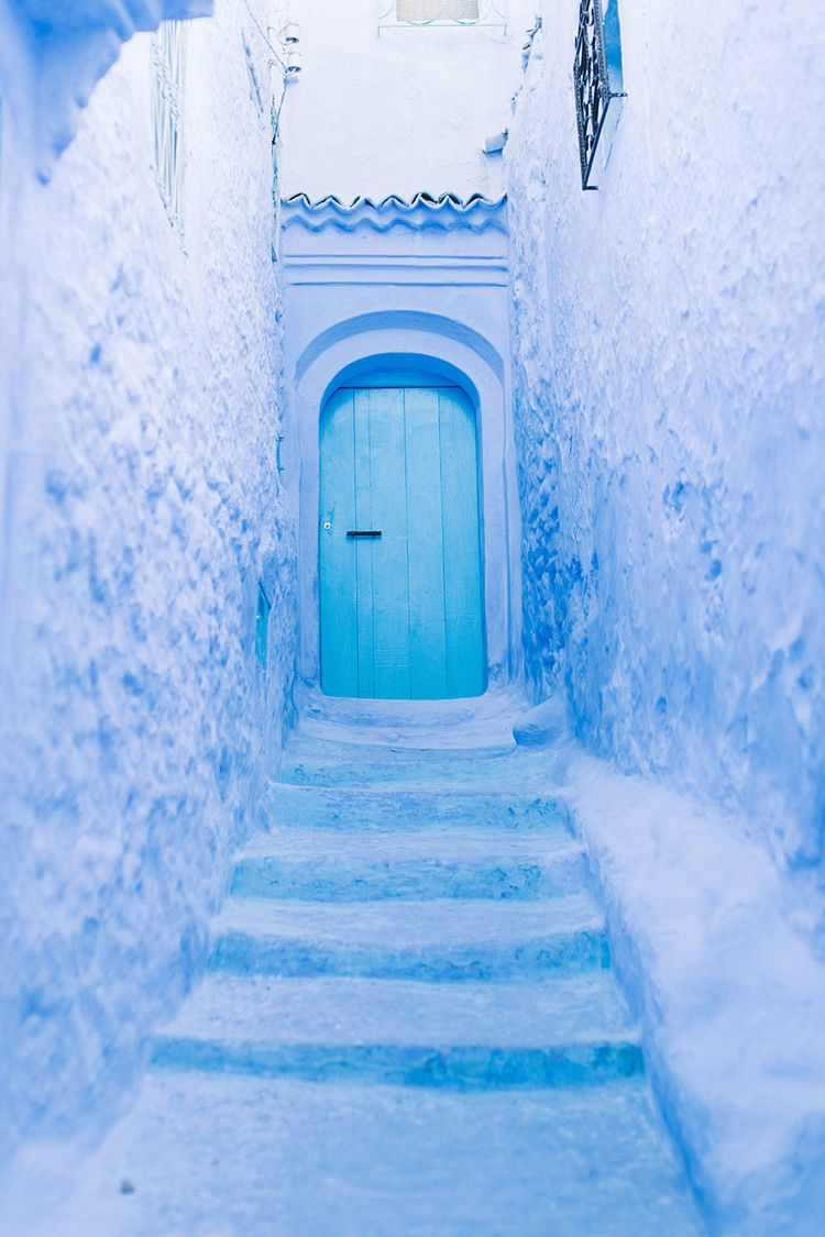morocco chefchaouen travel wanderlust blue pearl blue morocco. Black Bedroom Furniture Sets. Home Design Ideas