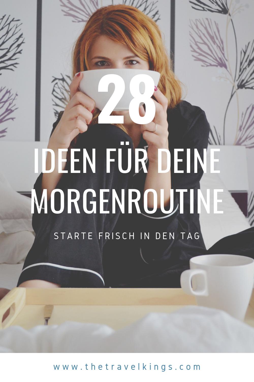 Ideen Morgenroutine | 28 Ideen für Deine Morgenroutine. Starte frisch und fokussiert in den Tag!     Morgenroutine Vorlage | Morgenroutine Tipps | Morgenroutine Plan    #gutenmorgen  #morgen #morgenroutine #routinen #Yomela
