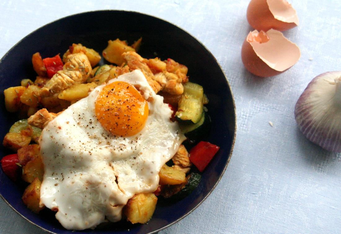 Easy Peasy Potato Dinner