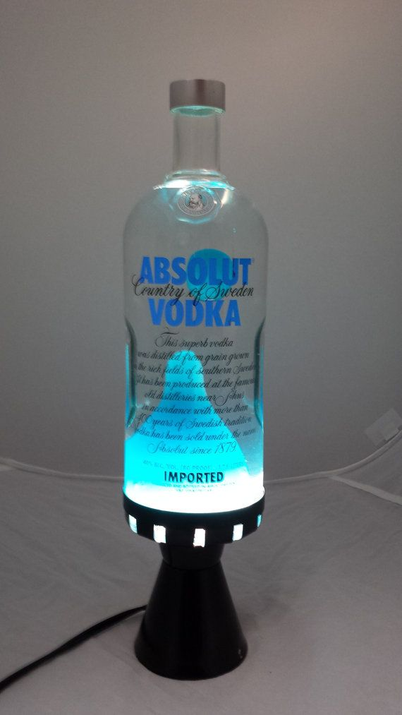 Lava Lamp Absolut Vodka Electric Blue By Lavalampshop On Etsy